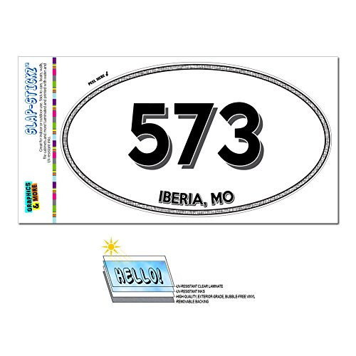 graphics-and-more-area-code-euro-oval-window-laminated-sticker-573-missouri-mo-fulton-linn-creek-ibe