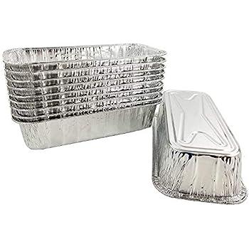 Amazon Com Pactogo 3 Lb Disposable Aluminum Foil Loaf