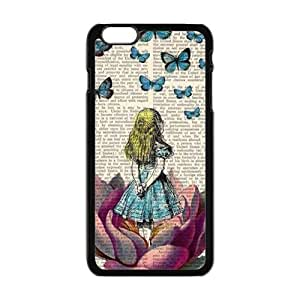 Butterflies lovely girl Cell Phone Case for Iphone 6 Plus