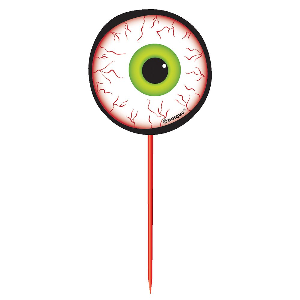 Eyeball Halloween Toothpicks, 8ct