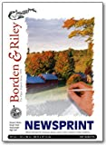 Seth Cole Newsprint Pad 24x36 Inch 100 Sheet (Pack of Two Pads)