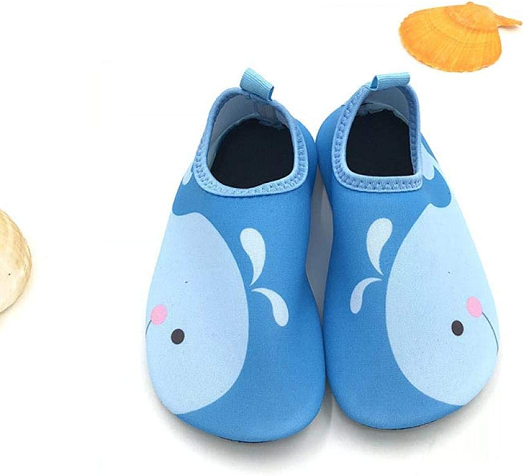 child safety Toddler Kids Water Shoes Quick Drying Swim Beach Shoes Aqua Socks for Boys and Girls