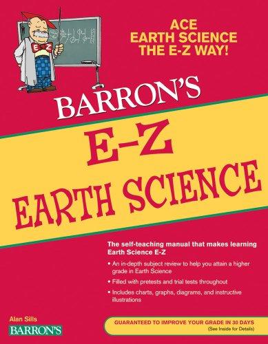 Earth Science Series - E-Z Earth Science (Barron's E-Z Series)