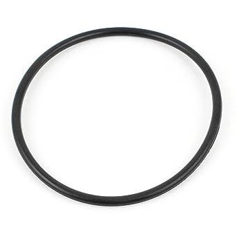 Negro redondo de PVC correa de transmisión 37cm OD Circunferencia ...