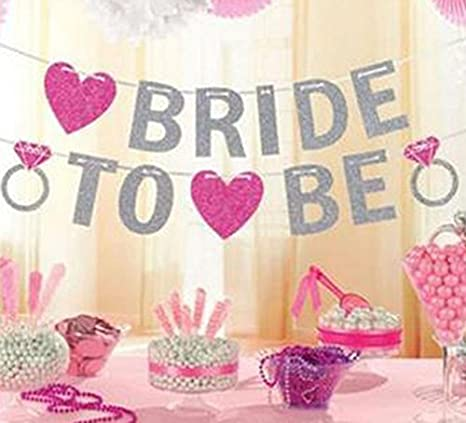 Hosaire BRIDE TO BE Net Yarn Bride Crown Hen Party Night Accessory Wedding Decoration Dancing Party