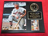 White Sox Nellie Fox Collectors Clock Plaque w/8x10 Photo and Card