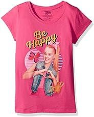 Jojo Siwa Big Jo Siwa Be Happy Girls Short Sleeve T-Shirt