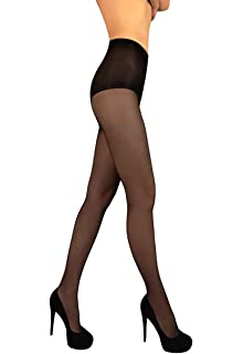 MILA MARUTTI Shaping Pantyhose Slimming Tummy Control Nylons for Women