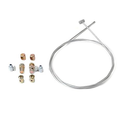 eastar Kit de reparación del Cable del Acelerador de Emergencia de la Motocicleta Universal