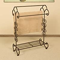 Passport Quilt Rack with Shelf - 25.25W x 34.5H in.