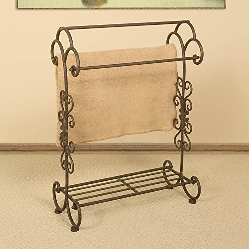 Frenchi Home Furnishing Men Suit Valet Stand With Suit Hanger Espresso B01BSMDYBU on Powell Furniture Merlot Quilt Rack