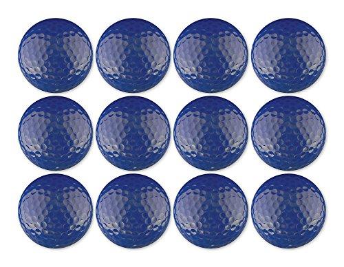 - Golf Ball 12-Pack Royal Blue Blank