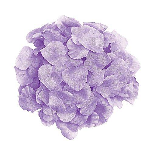 1000pcs Lavender Silk Rose Petals Artificial Flower Wedding Party Vase Decor Bridal Shower Favor Centerpieces Confetti