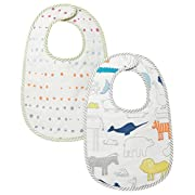 Pehr Petit Bib Set - Noah's Ark and Painted Dots