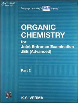 Organic Chemistry for JEE Joint Entrance Examination Advanced (Part - 2) 1st  Edition price comparison at Flipkart, Amazon, Crossword, Uread, Bookadda, Landmark, Homeshop18