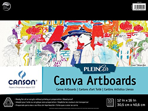 Plein Air Canva Artboards 12X16 10 Boards ()