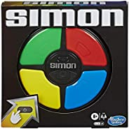 Simon Game; Electronic Memory Game for Kids Ages 8 and Up; Handheld Game with Lights and Sounds; Classic Simon