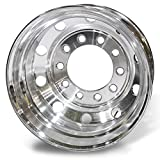 Accuride 24.5'' x 8.25'' BUDD 10 on 11.25'' Polished Drive / Trailer Wheel (27599AIP)