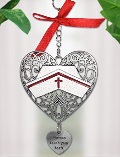 Nurse Filigree Heart Ornament Nurses product image