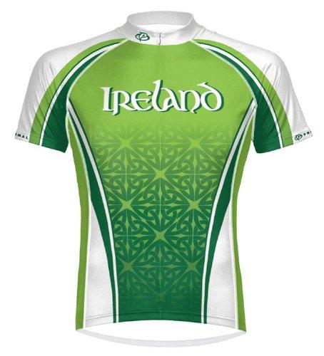 Primal Wear Ireland Celtic Irish Cycling Jersey Men's XL Short Sleeve