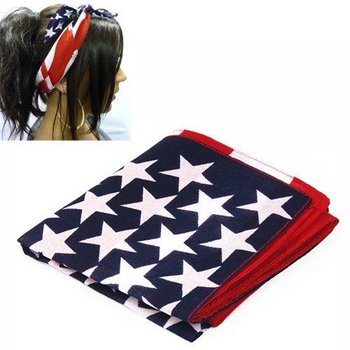 SODIAL (R) amerikanischen Stars and Stripes USA Flagge Bandana ...