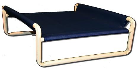 Rover empresa Elevated perro cama, 18 por 24 pulgadas, Mar Isla Azul