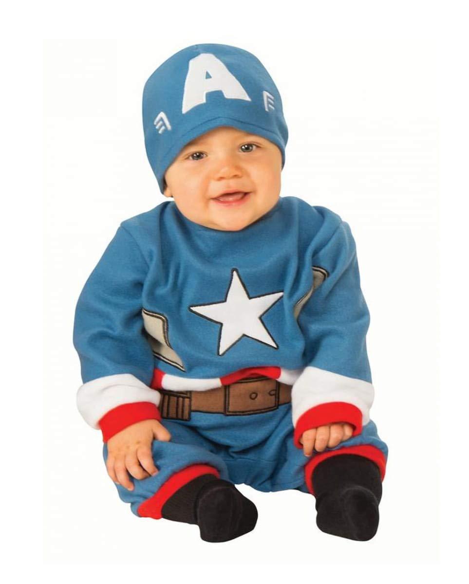 Horror-Shop Traje De Bebé Capitán América S 6-12-Monate ...