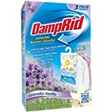 DampRid Hanging Moisture Absorber, Lavender Vanilla, 14 Oz(3 Count) - 2 Pack