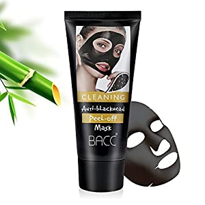 Blackhead Remover Mask-Essy Beauty - Purifying Quality Black Peel off Charcoal Mask Best Mud Facial Mask Deep Pore Cleanse for Acne, Oil Control 60g