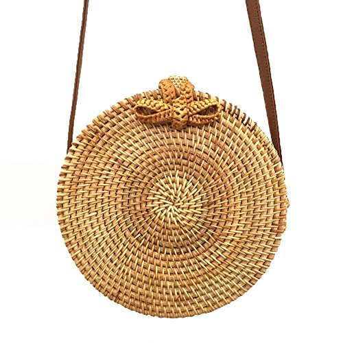 Woven Leather Handbags - 7