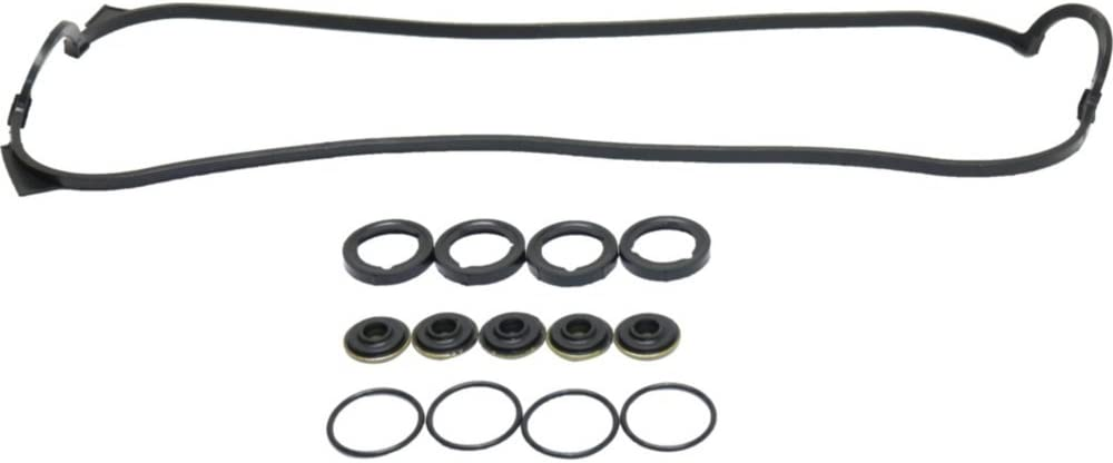 Valve Cover Gasket compatible with Honda Accord 90-97 2.2L Eng W//Grommets and Spark Plug Tube Seals