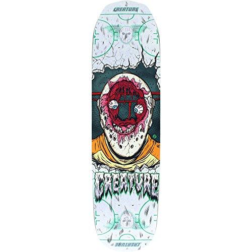 フェードアウトヒゲスキャンダラスCreature Skateboards Slapshot SM Everslickスケートボードデッキ – 8.2