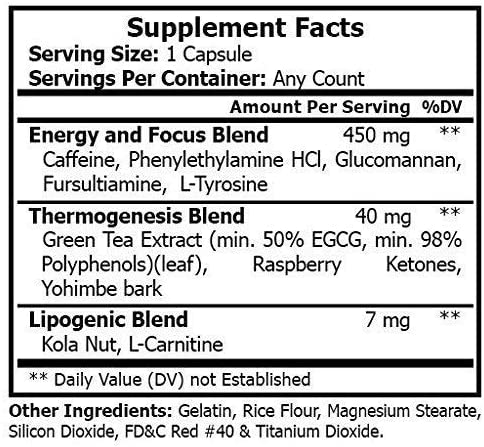 FUZE Thermogenic Ultra Keto Fat Burner Weight Loss Diet Pills and Supplement Will Ignite Your Metabolism, Ramp Up Your Energy and Melt Stubborn Fat Fast! 6