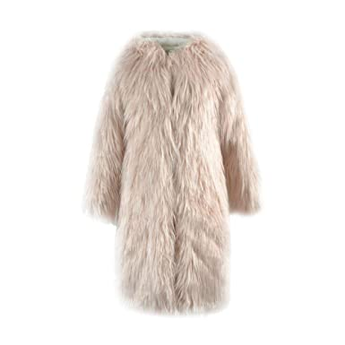 9e65af7a196d Women s Fake Fur Coat Fashion Oversize Longsleeve Clothing Coat Fur ...