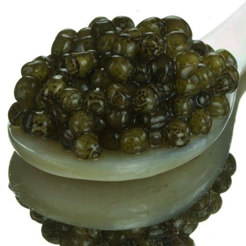 - Osetra Russian Karat Black Caviar - 1 x 1.0 oz jar