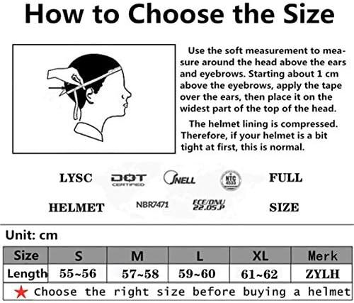 ZYLH-crosscountry-motorhelm, Kinder-cross-country Helm, Algemene Mountainbike-helm, Jeugd-cross-country Helm-masker, Buitensporthelm En Accessoires
