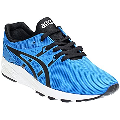 94f88d1dac2c ASICS Tiger Men s Gel-Kayano Trainer EVO Blue Black Sneaker hot sale 2017