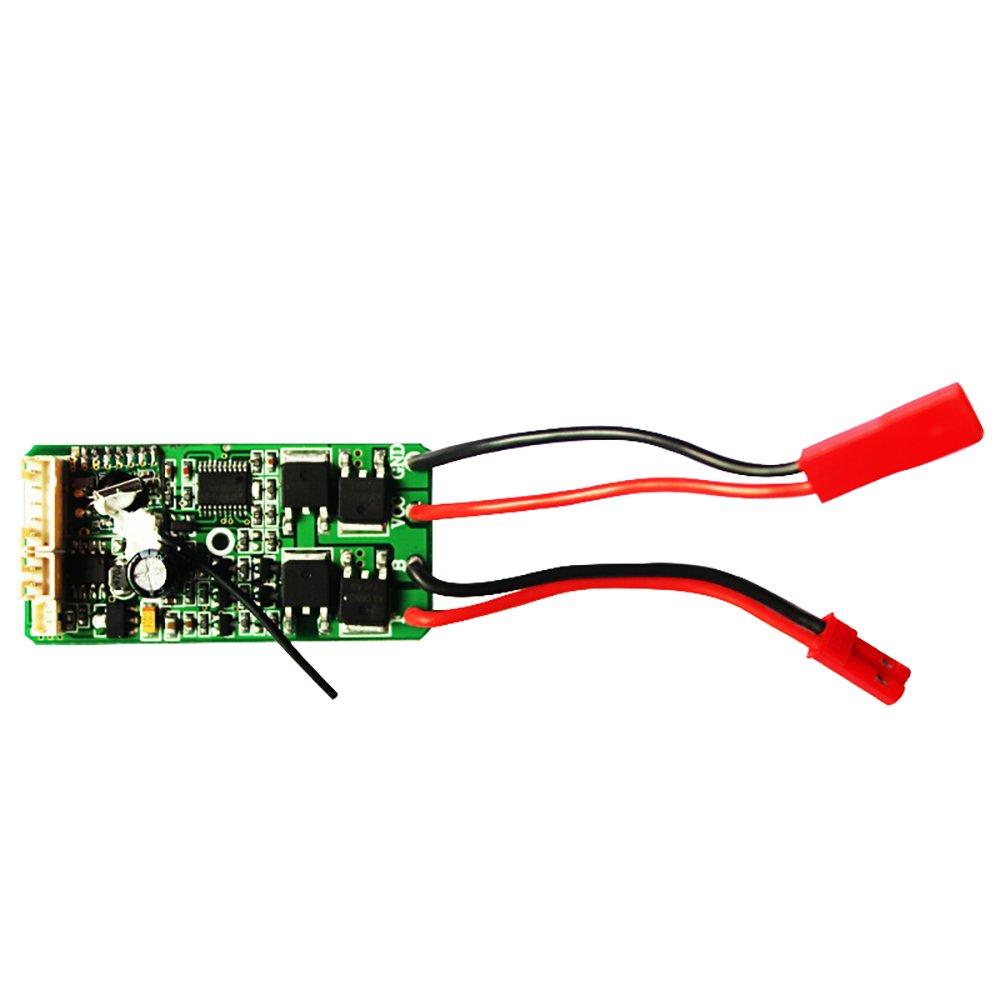 Amazon.com: VATOS RC CAR Parts Incept electric plate/Receiver PCB DZDB04  for VL-BG1510/VL-BG1511/VL-BG1518: Toys & Games