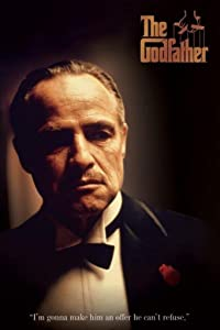 Pyramid America The Godfather Cant Refuse Movie Quote Cool Wall Decor Art Print Poster 12x18