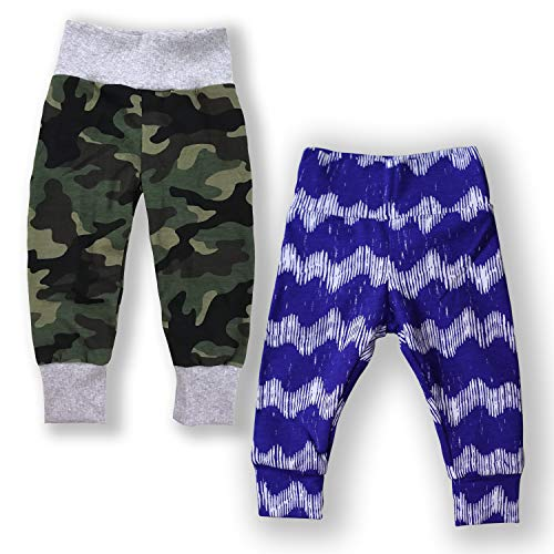 tton Legging (Blue Wave/Camouflash, 24 Months / 2T) ()