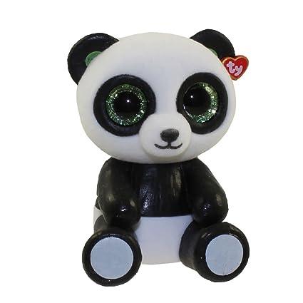debda35ba3e Image Unavailable. Image not available for. Color  TY Beanie Boos - Mini  Boo Figure - BAMBOO the Panda Bear (2 inch)
