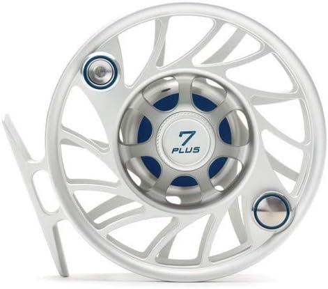 Hatch 7 Plus Gen 2 Finatic フライリール クリア/ブルー ミッドアーバー