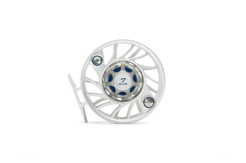 Hatch 7 Plus Gen 2 Finatic フライリール クリア/ブルー ミッドアーバー   B07NZ8NXRL