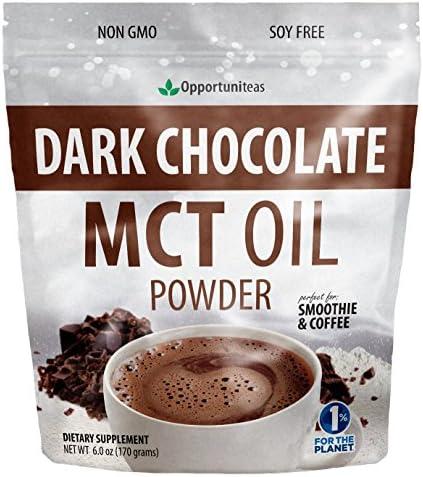 Dark Chocolate MCT Oil Powder