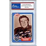 Chuck Bednarik Autographed Signed 1988 Philadephia Card Trading Card - Certified Authentic