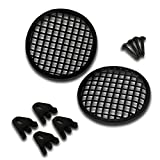 Pyramid GW5BK 5'' Speaker Grill Covers - Universal Car/Vehicle Speaker Protectors (Pair)