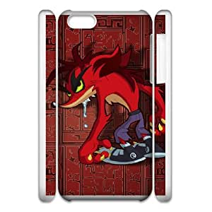 Crash Bandicoot iphone 6s 4.7 Inch Cell Phone Case 3D White yyfD-343191