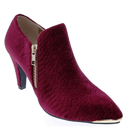 Bellini Dames Grace Bootie Wine-embossed