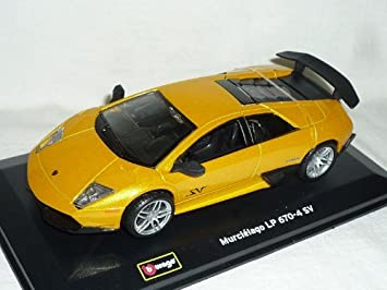 Lamborghini Murcielago Lp670 4 Sv Lp 670 Sv Gelb Tuning 1 32 Bburago