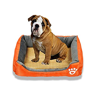 Zodae Pet Lounger Pet Bed Premium Bedding with Super Soft Padding and Anti-Skid Bottom for Dogs & Cats